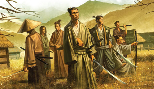 L5R - Campagne Ronal Ronin
